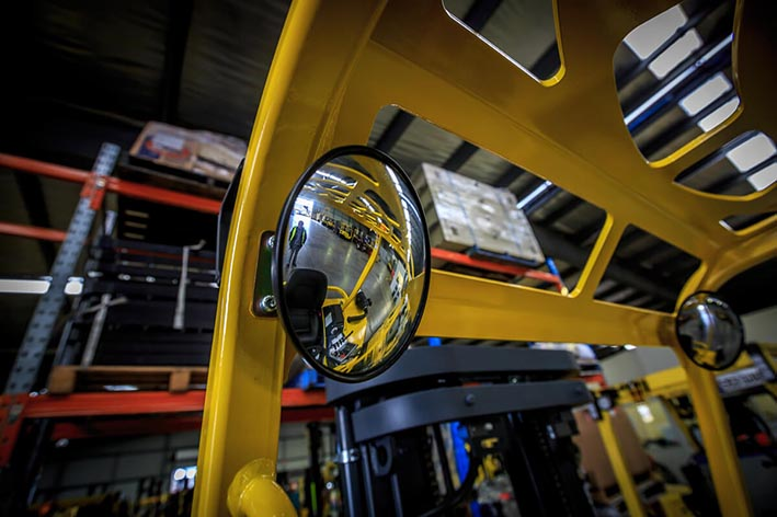 Forklift Mirror Training