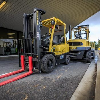 fork lifts out side of FQT